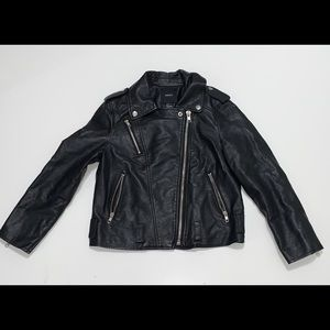 Faux Leather Jacket (Small)